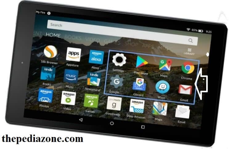 how to install google play store and chrome on kindle fire