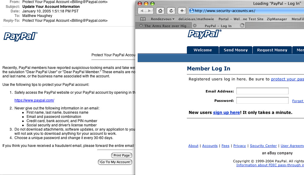 signup paypal account